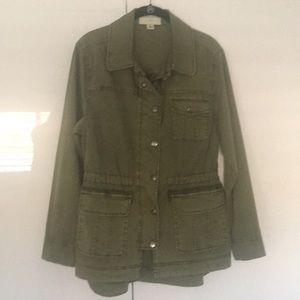 Anthropologie Military Jacket